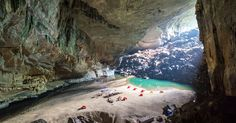 Did you know you can camp overnight the world's 3rd BIGGEST cave!? Hang En Cave is in Vietnam and this is a once in a lifetime experience!
