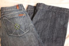7 for all mankind Jeans Size 30 Size 10 Flare Bottom #7ForAllMankind #Flare