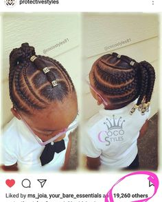 KID'S LITTLE BIGS, NO HAIR ADDED. . . . FOR APPOINTMENTS, PRICING, AND AVAILABILITY. cocostyles.acuityscheduling.com IG: @cocostyles81 Facebook: Coco Styles . . . #cocostyles81 #atlantabraider #cocostyled #nursebraider #cocodidit #bestboxbraids #p (braided ponytail cornrows)