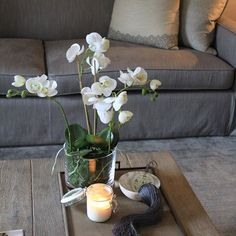 Back in stock our luxury four-stemmed faux orchids. Link in bio to purchase. #fauxflowers #luxurylondonflorist #fakeflowers #fauxplants #int...