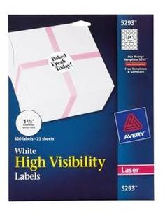 Avery Print To The Edge Permanent Laser Round Labels 1 23 Diameter White Pack Of 600 by Office Depot & OfficeMax