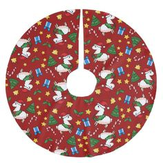 Shop Holiday Llama Madness Brushed Polyester Tree Skirt created by YamPuff. Personalize it with photos & text or purchase as is! Llama Christmas, Christmas Tree, Cute Llama, Xmas Holidays, Christmas Decorations, Holiday Decor, Present Gift, Holiday Festival, Tree Skirts
