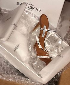 """""""off white x jimmy choo"""" Cute Sandals, Cute Shoes, Me Too Shoes, Kicks Shoes, Shoes Heels, Pumps, Glass Shoes, Sneaker Heels, Sneakers"""