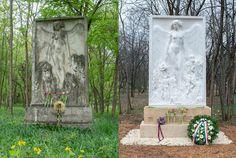 Megújult Maróti Géza építész síremléke