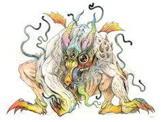 Beasty by David Habben, via Behance