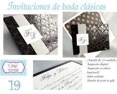INFOCOPY Invitaciones y detalles de boda, Invitaciones de boda Ciudad Real.