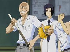 Ikkaku, Yumichika, and Ichigo - Bleach - See this image on Photobucket.