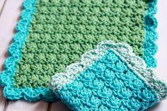 Easy Crochet Dish Cloth Pattern