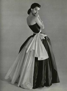 Evening Gown by Grès <3 1956