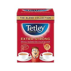 Tetley Extra Strong Tea Bags 75 per pack - Pack of 6 ** Check this awesome product by going to the link at the image. (This is an affiliate link and I receive a commission for the sales)