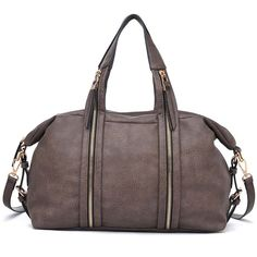 NEW Urban expressions peoria handbags Zipper vegan leather Taupe SALE $69 & FREE SHIPPING #UEPepria #bagmadness