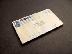 Cliente: GMZ (Verso) - Cartão Couché 300g laminação fosca e verniz local