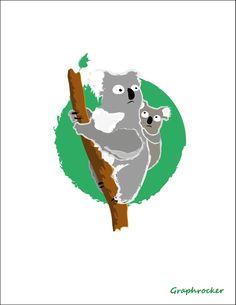 Koala by Graphrocker