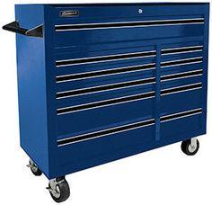 Homak BL04011410 41-Inch Pro Series 11 Drawer Rolling Cabinet