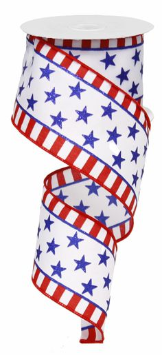"2.5"" x 10 YDS Stars and Stripes"