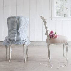 Darcy Armless Chair And Slipcover Rachel Ashwell Shabby Chic Homes Simply