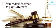 The case of bankruptcy and insolvency which is filed by the IDBI Bank against the Jaypee Firm, Jaypee Group is asked To Deposit 650 Crores Instead Of 1000 Crores by Supreme Court Supreme Court, Group, News