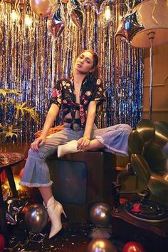 Account Suspended On Nadine: Floral Kimono Top, Ruffled Denim Jeans, Nadine Lustre Ootd, Nadine Lustre Fashion, Nadine Lustre Outfits, Nadine Lustre Instagram, Floral Kimono, Kimono Top, Lady Luster, Star Fashion, Fashion Outfits