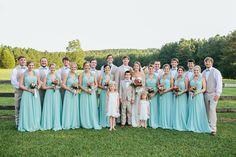 #BigDay #weddings #realweddings    Rachel and Ty's Southern Wedding