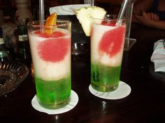 Mexican Flag drink
