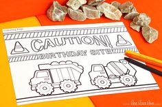••• Dump Truck Party Theme •••  Shop Them Here:  https://www.etsy.com/shop/LeeLaaLoo/search?search_query=b82&order=date_desc&view_type=gallery&ref=shop_search  ♥♥♥ Vendor Credits:  ♥ Party Styling: LeeLaaLoo - www.leelaaloo.com  ♥ Party Printable Design & Decoration: LeeLaaLoo - www.etsy.com/shop/leelaaloo  Our YouTube channel for some DIY tutorials here: http://www.youtube.com/leelaaloopartyideas