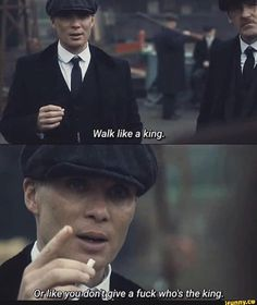 Tap to see the meme Peaky Blinders Poster, Peaky Blinders Series, Peaky Blinders Quotes, Mood Quotes, Positive Quotes, Motivational Quotes, Inspirational Quotes, Rude Quotes, Positive Motivation