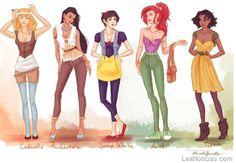 Así se verían las princesas Disney en nuestros tiempos - http://www.leanoticias.com/2012/02/01/as-se-veran-las-princesas-disney-en-nuestros-tiempos/