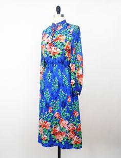 Le Jardin Japanese Vintage Dress// https://www.etsy.com/listing/162839207/japan-vintage-dress-70s-dress-le-jardin?ref=pr_shop #vtg #vintage #fashion #dress #vintagefashion #vintagedress
