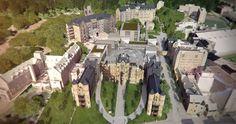 Campus de l'hôpital Royal Victoria par DMA architectes, Montréal, Québec. Image : Graph Synergie. Source : Université McGill.