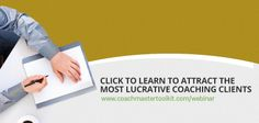 Read this article and please share which repeatable services you offer as a coach. http://executivecoachresources.com/a-secret-that-coaches-can-learn-from-top-professional-services-firms-turning-services-into-repeatable-solutions-2/