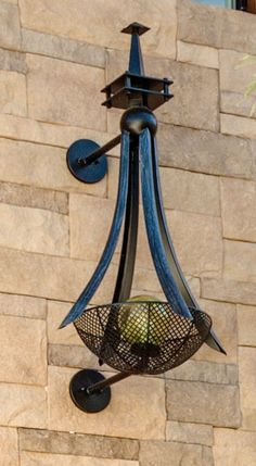 Bercaw Basket Sconce