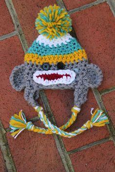 Adorable monkey hat!
