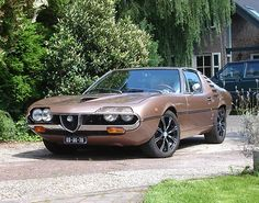 Alfa Romeo Montreal1974 #alfaromeo #montreal #classiccar #carrelation