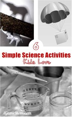 Simple science activ