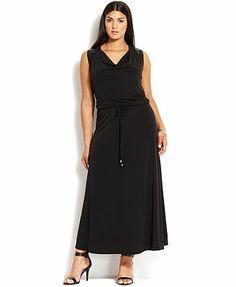 Calvin klein plus maxi dress