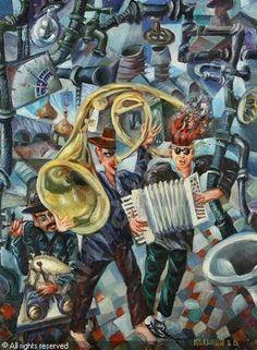 KALININ Vyacheslav Vasilevich - Surrealist Concert