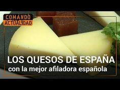 ¿Cuántos tipos de quesos hay en España? ¿Cómo hay que cortalos? | Comando actualidad - YouTube