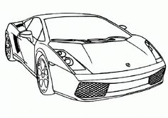 ausmalbilder sportwagen 09