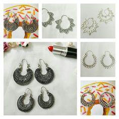 🎉 Festive Season Must have 🎁Beautiful Contemporary Vintage Oxidized Chandbalis NO COD WA 9810105290 #chandbali #chandbala #jhumki #jhumkas #earringaddict #earring