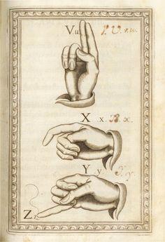 """John Overholt on Twitter: """"Delicately engraved hands teach the manual alphabet in a 1620 Spanish work on deaf education https://t.co/JbLhR9J1k9 https://t.co/nWLZeYYY4i"""""""