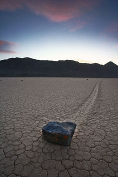 Sailing Stones - An unexplainable phenomenon that occurs only in Death Valley on our planet.