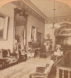 """Clevelands reception room 1880's"""