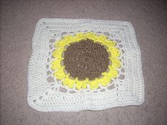 Ravelry: Project Gallery for Birthday Flower Square pattern by Chris Simon