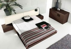 Minimalist Relaxing: The Modern Bedroom Collection