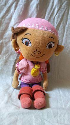 "Disney Parks Jake And The Neverland Pirates Izzy 12"" Plush Doll  #WaltDisneyParks #DisneyJakeAndTheNeverlandPirates"