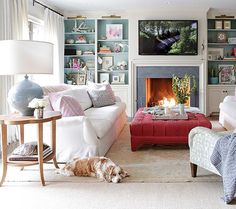 Check out Aerin Lauder's beautiful blog today to see several ways I styled her…