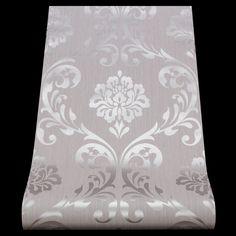 13110-50) 1 Rolle Vlies Tapete 'Ornament' Barock Design grau si kaufen