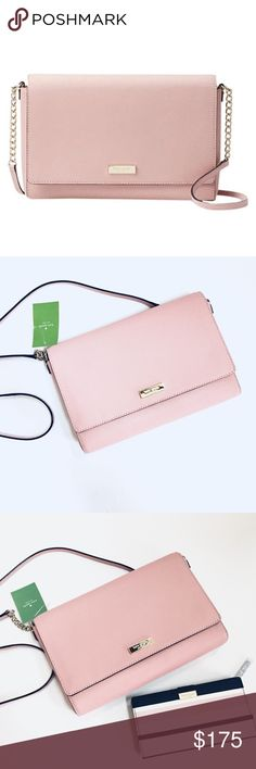 Kate Spade Tilden Place Alek Crossbody( bag only) New with tag, color Pink Bonnet, leather Crossbody, L 7.15 inches H 5.5 inches W 3.2 inches, absolutely gorgeous bag, the color is stunning, great Christmas gift the wallet is available in a separate listing kate spade Bags Crossbody Bags