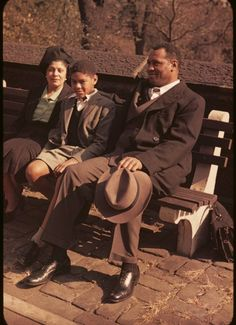 Paul Robeson and family