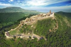 Castle of Szigliget, Hungary. Budapest, European Countries, Hungary, Tao, Monument Valley, Medieval, Golf Courses, Castles, Landscape